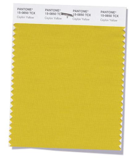Pantone-Fashion-Color-Trend-Report-New-York-Fall-2018-Swatch-Ceylon-Yellow